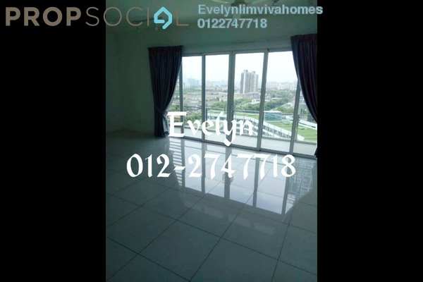 For Rent Condominium at EcoSky, Jalan Ipoh Freehold Semi Furnished 3R/2B 3k