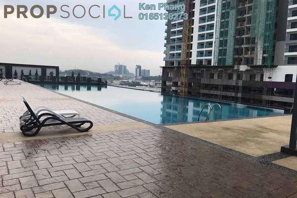 For Rent Condominium at Landmark II, Bandar Sungai Long Freehold Unfurnished 3R/2B 1.5k