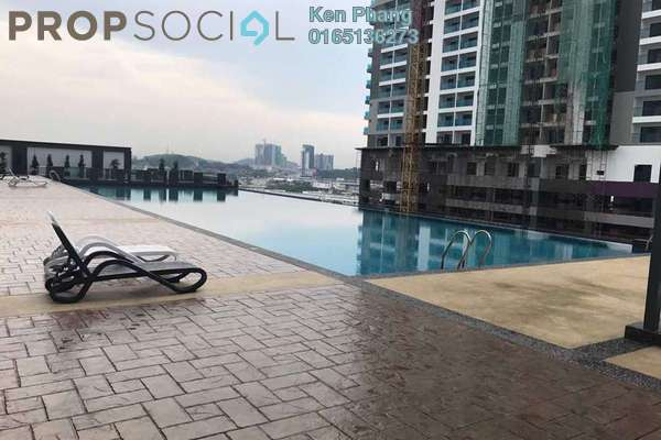 For Sale Condominium at Landmark II, Bandar Sungai Long Freehold Unfurnished 3R/2B 580k