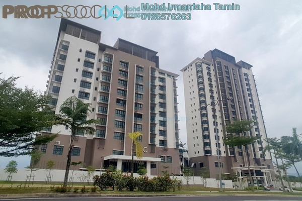 For Sale Condominium at Lake Vista Residence, Bandar Tun Hussein Onn Freehold Unfurnished 3R/2B 595k