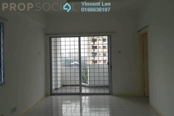 For Sale Apartment at Menara Orkid, Sentul Freehold Semi Furnished 3R/2B 299k