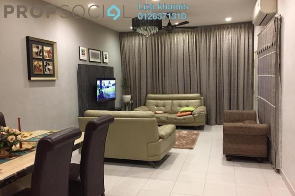 For Sale Terrace at Avira, Bandar Bukit Raja Freehold Semi Furnished 4R/3B 725k