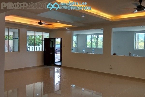 For Sale Terrace at Taman Zooview, Ukay Freehold Unfurnished 5R/4B 2m