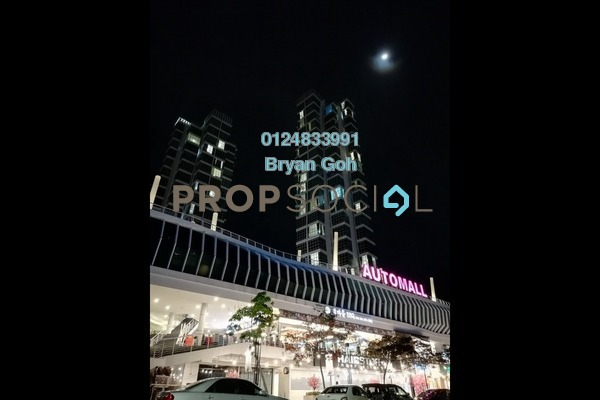 For Rent Condominium at The OceanView, Jelutong Freehold Fully Furnished 3R/2B 1.6k