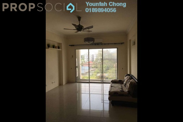 For Sale Condominium at The Heron Residency, Puchong Freehold Semi Furnished 3R/2B 360k