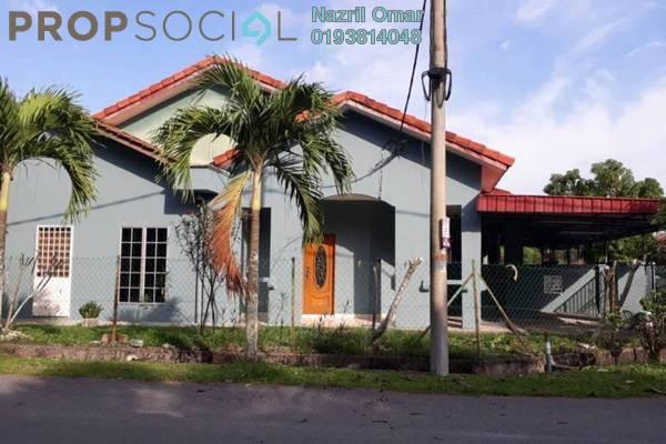 For Sale Terrace at Taman Pahlawan, Telok Panglima Garang Freehold Semi Furnished 3R/2B 420k