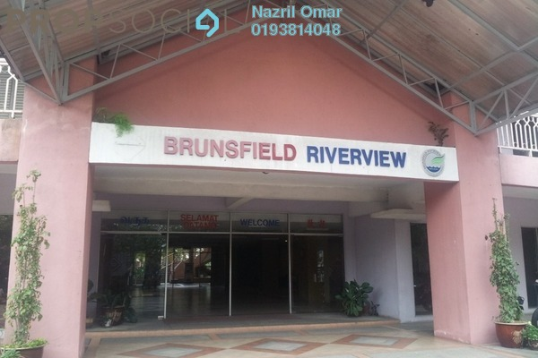 For Rent Apartment at Brunsfield Riverview, Shah Alam Freehold Semi Furnished 3R/2B 1.55k