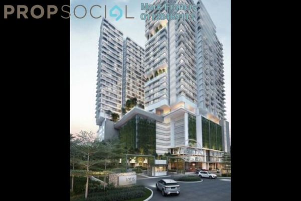 For Sale Serviced Residence at Lot 15, Subang Jaya Freehold Semi Furnished 1R/1B 570k