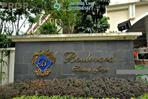 For Sale Condominium at The Boulevard, Subang Jaya Freehold Semi Furnished 2R/3B 454k