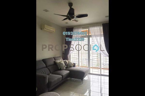 For Rent Condominium at Diamond Regency, Setapak Freehold Semi Furnished 3R/2B 1.8k