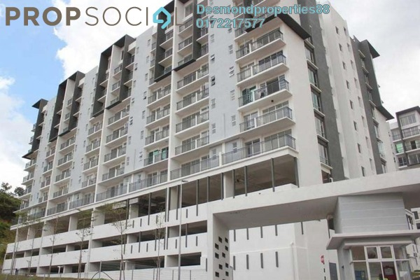 For Rent Condominium at Hijauan Heights, Kajang Freehold Semi Furnished 3R/2B 1.1k