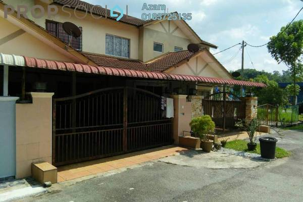 For Sale Terrace at Taman Serendah Makmur, Serendah Leasehold Semi Furnished 4R/3B 249k