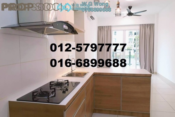 For Rent Condominium at Tropicana Bay Residences, Bayan Indah Freehold Semi Furnished 3R/2B 1.55k