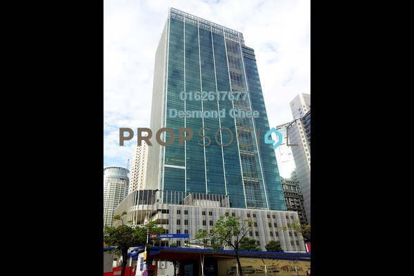 For Rent Office at Menara Binjai, KLCC Freehold Fully Furnished 0R/0B 2.8k