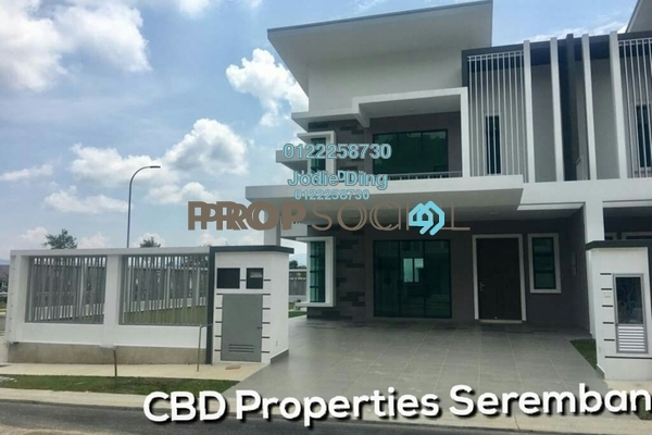 For Sale Superlink at Forest Heights, Seremban Freehold Unfurnished 4R/4B 514k