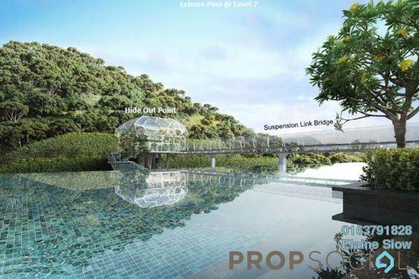 For Sale Condominium at Kaleidoscope, Setiawangsa Freehold Semi Furnished 3R/2B 600k