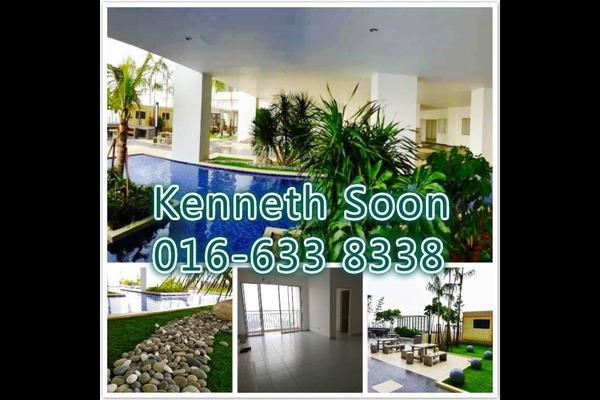 For Rent Condominium at Residensi Puchongmas, Puchong Freehold Semi Furnished 3R/2B 1.4k