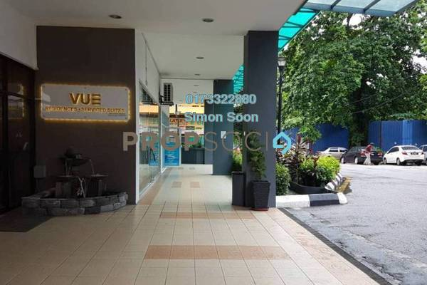 For Rent Serviced Residence at Vue Residences, Titiwangsa Freehold Fully Furnished 2R/1B 2.28k