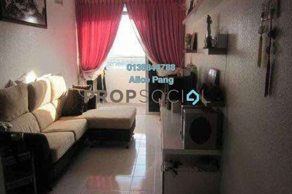 For Sale Apartment at GL Garden, Farlim Freehold Semi Furnished 3R/2B 375k