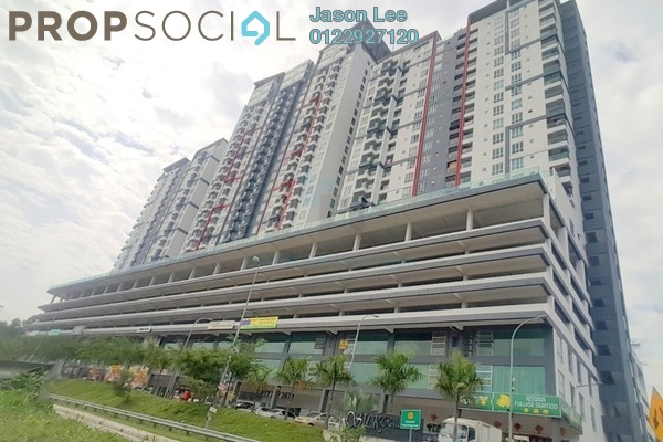 For Sale Condominium at Silk Residence, Bandar Tun Hussein Onn Freehold Semi Furnished 3R/2B 360k