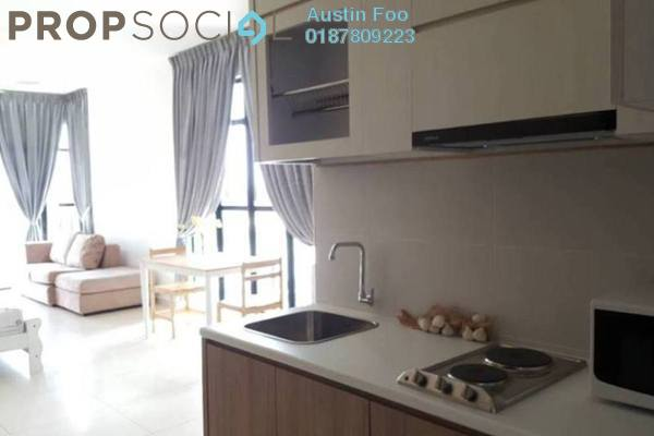 For Rent SoHo/Studio at The Garden Residences, Skudai Freehold Fully Furnished 0R/1B 1.1k