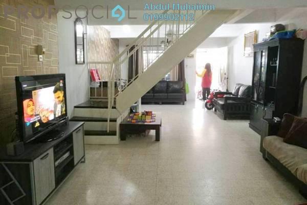 For Sale Terrace at Taman Melawati, Melawati Freehold Semi Furnished 2R/2B 520k