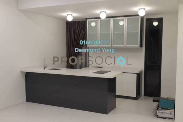 For Sale Condominium at The Capers, Sentul Freehold Semi Furnished 3R/3B 850k