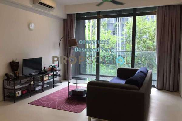 For Rent Condominium at The Capers, Sentul Freehold Fully Furnished 2R/2B 2.3k