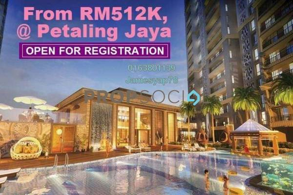 For Sale Condominium at PJ Midtown, Petaling Jaya Freehold Fully Furnished 1R/1B 512k