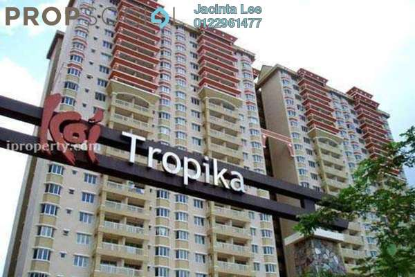 For Sale Condominium at Koi Tropika, Puchong Freehold Semi Furnished 3R/2B 210k