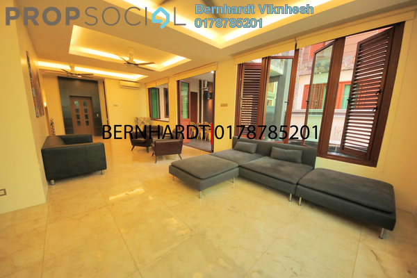 For Rent Superlink at The Ara, Bangsar Freehold Semi Furnished 4R/4B 10k