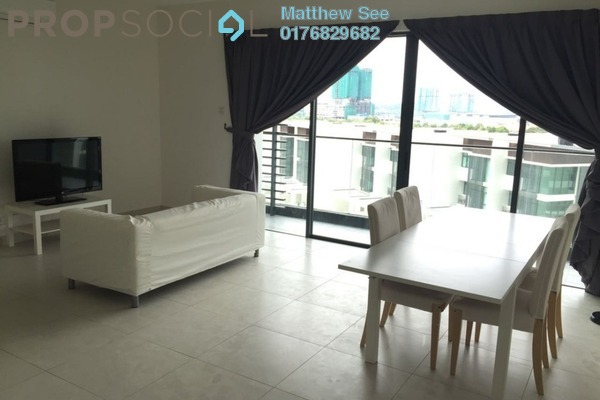 For Sale Condominium at Cristal Residence, Cyberjaya Freehold Semi Furnished 3R/2B 590k