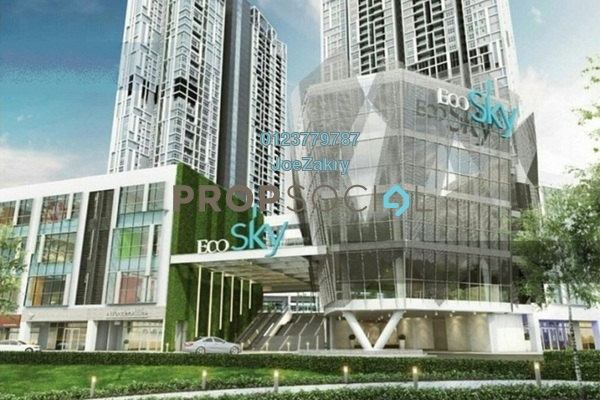For Sale Condominium at EcoSky, Jalan Ipoh Freehold Semi Furnished 3R/2B 755k