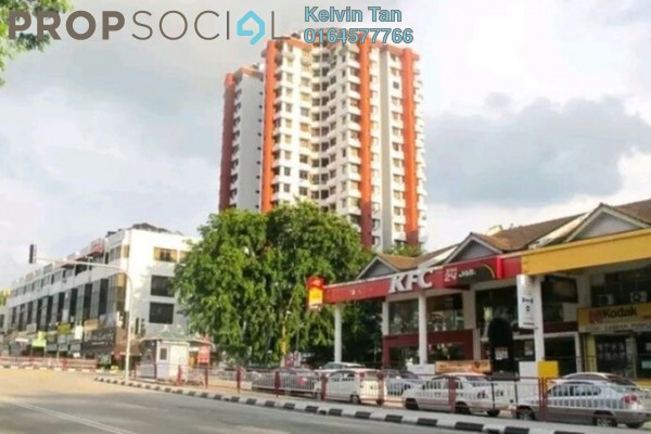 For Rent Condominium at University Heights, Sungai Dua Freehold Semi Furnished 3R/2B 1.2k