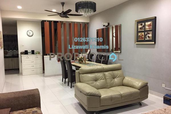 For Sale Terrace at Avira, Bandar Bukit Raja Freehold Semi Furnished 4R/3B 715k