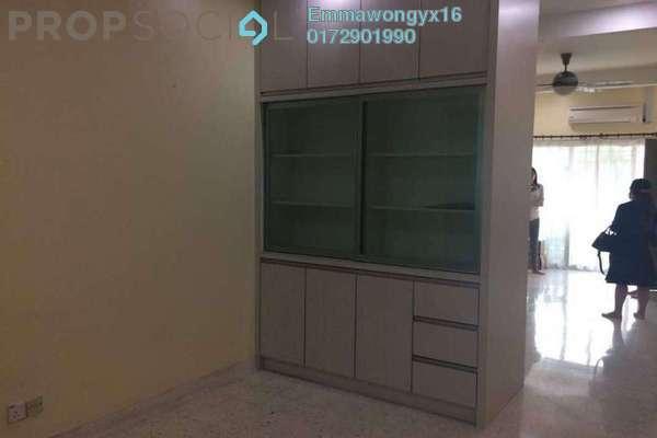 For Rent Terrace at SD4, Bandar Sri Damansara Freehold Semi Furnished 3R/2B 1.7k