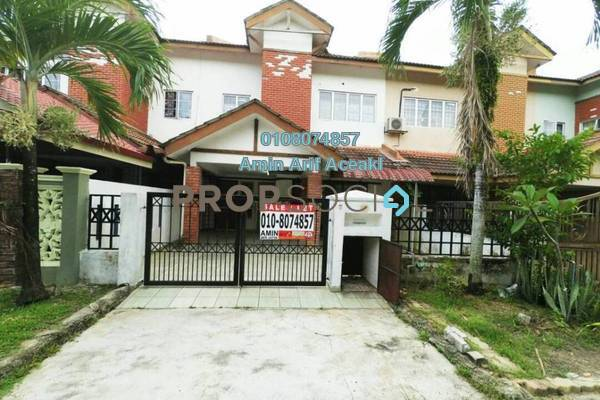 For Sale Terrace at Bandar Baru Sungai Buaya, Rawang Freehold Semi Furnished 4R/3B 320k