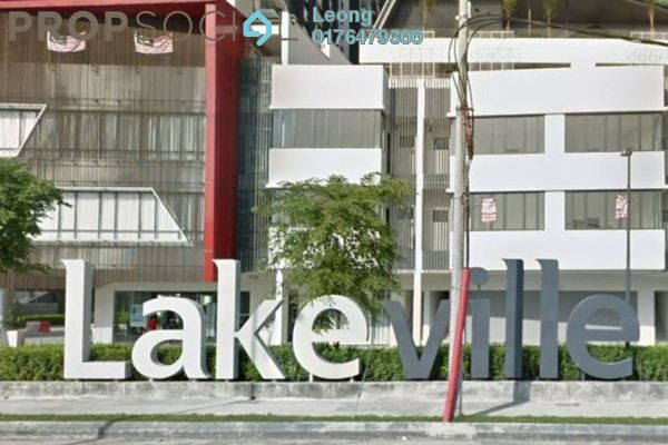 For Rent Condominium at Lakeville Residence, Jalan Ipoh Freehold Semi Furnished 0R/0B 2.5k