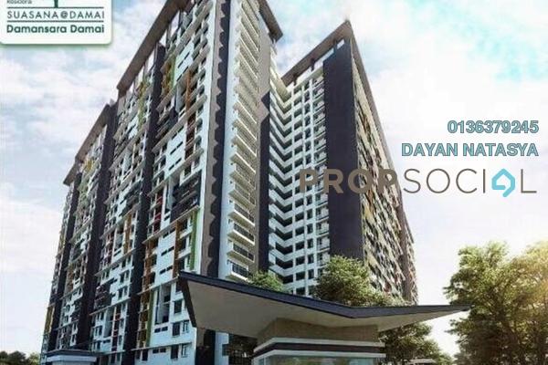 For Sale Condominium at Residensi Suasana, Damansara Damai Freehold Semi Furnished 3R/2B 489k