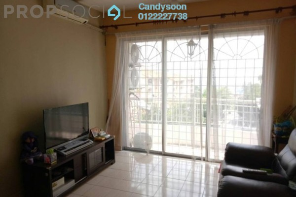 For Rent Condominium at Vista Harmoni, Cheras South Freehold Semi Furnished 3R/2B 1k