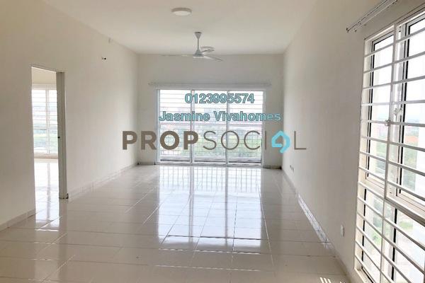 For Rent Condominium at The iResidence, Bandar Mahkota Cheras Freehold Unfurnished 3R/2B 1.2k