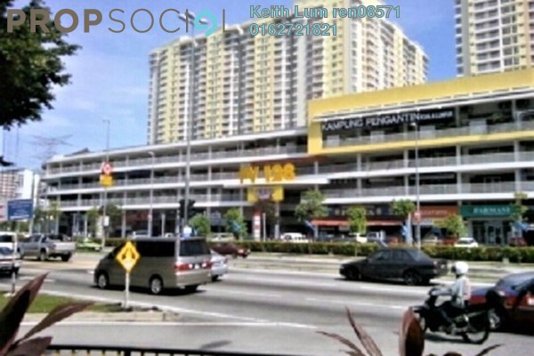For Rent Shop at Platinum Mondrian PV128, Setapak Freehold Semi Furnished 0R/2B 4.5k