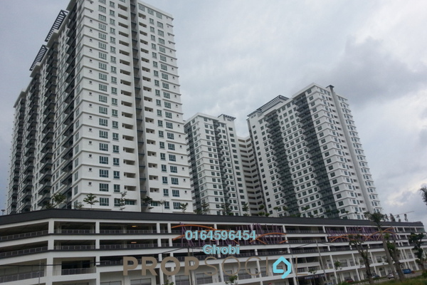 For Rent Condominium at The Golden Triangle, Relau Freehold Unfurnished 3R/2B 1.3k