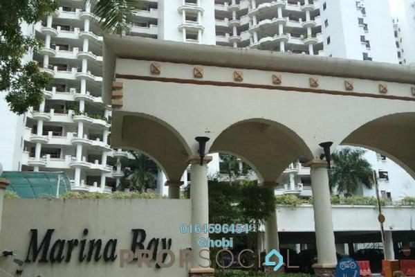 For Rent Condominium at Marina Bay, Tanjung Tokong Freehold Fully Furnished 3R/3B 3k