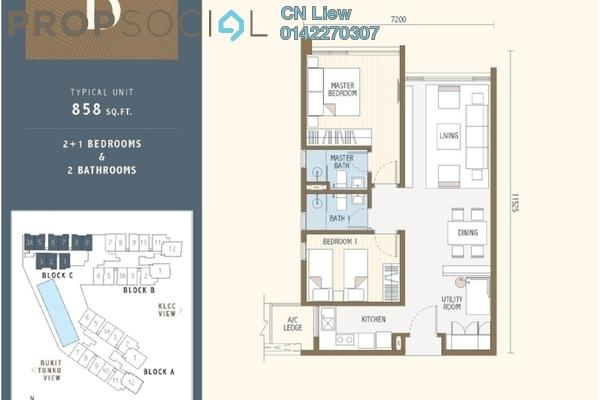For Sale Condominium at Duta Park Residences, Jalan Ipoh Freehold Semi Furnished 3R/2B 480k