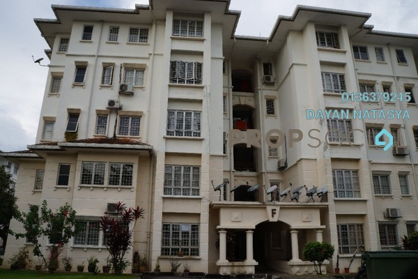 For Sale Apartment at Arcadia, UEP Subang Jaya Freehold Semi Furnished 4R/3B 480k