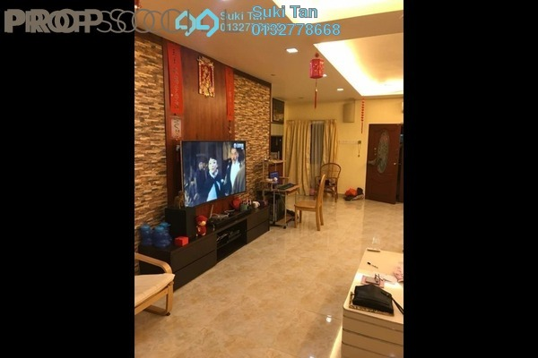 For Sale Terrace at Taman Prima Impian, Segambut Freehold Semi Furnished 4R/3B 1.05m