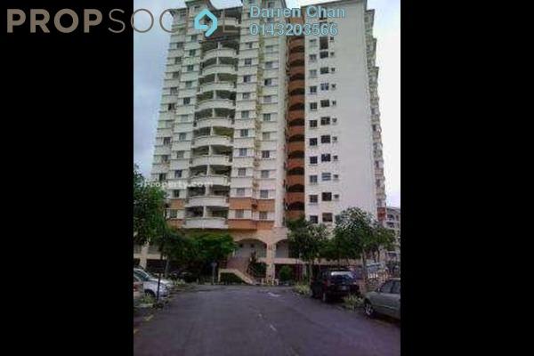 For Rent Condominium at Astaka Heights, Pandan Perdana Freehold Semi Furnished 3R/2B 1.4k