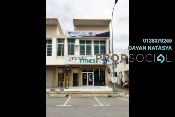 For Sale Shop at Laman Dahlia, Nilai Impian Freehold Unfurnished 1R/2B 750k