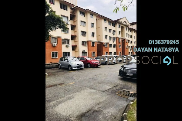 For Sale Apartment at Putra Damai Apartment, Putrajaya Freehold Semi Furnished 3R/2B 270k
